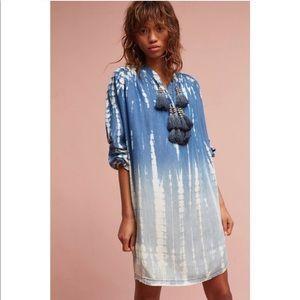 Anthropologie Tina Jo Dina Tassel Dress